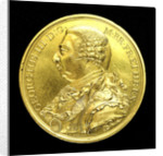 Medal commemorating the British victories of 1798; obverse by Heinrich Kuchler