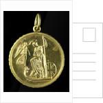 Medal commemorating the Trafalgar Centenary, 1905; reverse by Spink & Son Ltd.
