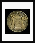 Medal commemorating the 350th anniversary of the sailing of the 'Mayflower', 1620-1970; reverse by Paul Vincze