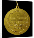 Medal, Barnburgh's Memento; reverse by unknown