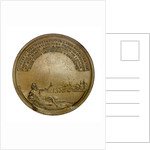 Medal commemorating the Battle of the Nile, 1798; reverse by J.G. Hancock
