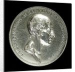 Medal commemorating Sir Charles Lewis Giesecke (1761-1833); obverse by W.S. Mossop