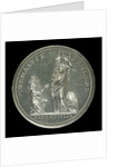 Medal commemorating the capture of Guadeloupe, 1759; obverse by Stuart