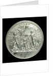 Medal commemorating the Battle of Quiberon Bay, 1759; reverse by Thomas Pingo