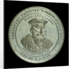 Medal commemorating the centenary of the Lutterworth Tradesmen's original Benefit Society, 1846; obverse by unknown