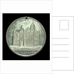 Medal commemorating the Sailors' Home, Liverpool; reverse by unknown