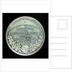 Medal commemorating the opening of the Birkenhead docks, 1847; reverse by unknown