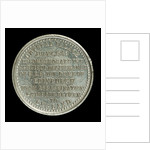 Medal commemorating the deliverance of HRH The Duke of Edinburgh from assassination, 1868; reverse by unknown