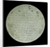 Medal commemorating John Clare (1820-1885), shipbuilder; reverse by unknown