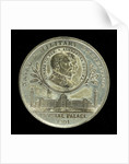 Medal commemorating the Naval and Military Exhibition and Jubilee of the Great Exhibition 1901; obverse by unknown