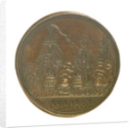 Medal commemorating the capture of French treasure ships, 1745; reverse by J. Kirk