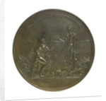 Medal commemorating Captain William Wilson's voyage to China; obverse by R. Yeo