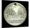 Medal commemorating Captain James Cook's second voyage; reverse by W. Barnett