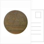 Medal commemorating Captain James Cook (1728-1779); reverse by unknown