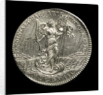 Counter commemorating the capture of Sardinia and Minorca, 1708; reverse by unknown
