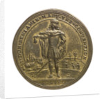 Counter commemorating the convention of Prado, 1739; obverse by unknown