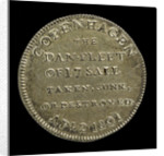 Counter commemorating Vice-Admiral Horatio Nelson (1758-1805) and the Battle of Copenhagen, 1801; reverse by unknown