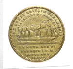 Counter commemorating the SS 'Great Britain'; obverse by J. Gardner