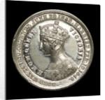 Counter commemorating Queen Victoria; obverse by Allen & Moore