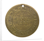 Counter commemorating the Liverpool Mercantile Marine Stokers, United Friendly Society; reverse by J. Park