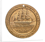 Medalet commemorating the Trafalgar Centenary and the St George's Society and Sons of England, of Ottawa; obverse by unknown