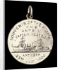 Medalet commemorating the visit of HMS 'Antrim' Captain Inglefield to Antwerp, 1906; reverse by J. Baetes