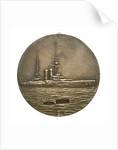 Medalet commemorating HMS 'Dominion'; reverse by W.M.C.