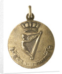 Medalet commemorating HMS 'Hibernia'; obverse by V.B.