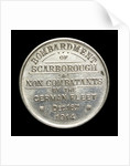 Medalet commemorating the bombardment of Scarborough, 1914; reverse by unknown