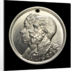 Daily Record medalet commemorating RMS 534 ('Queen Mary'); obverse by unknown