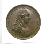Medal commemorating the victories under George III; obverse by J. Westwood