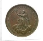 Medal commemorating the victories under George III; reverse by J. Westwood