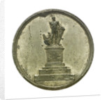 Medal commemorating the Nelson memorial, Birmingham; obverse by P. Wyon