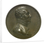 Medal commemorating Vice-Admiral Horatio Nelson (1758-1805) and the Duke of Wellington; reverse by T. Webb