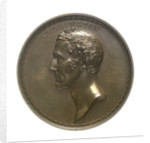 Medal commemorating Arthur Wellesley, 1st Duke of Wellington (1769-1852) and the Cinque Ports banquet, 1839; obverse by B. Wyon
