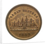 Medal commemorating the SS 'Great Eastern'; reverse by unknown