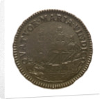 Coin pattern commemorating the dominion of the sea; reverse by unknown