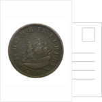 Coin commemorating the dominion of the sea; reverse by unknown