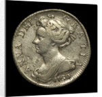 Vigo sixpence; obverse by unknown