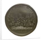 Medal commemorating the capture of French treasure ships, 1745; obverse by J. Kirk