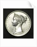 Medal commemorating the battle of Trafalgar, 1805; obverse by W. Wyon