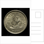 10 cents coin; reverse by unknown