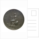Penny; reverse by unknown