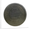 'Royal George' token; obverse by unknown