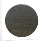 Peace signed before Nankin; obverse by unknown