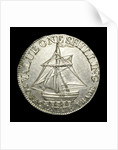 Hampshire shilling token; reverse by unknown
