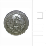 Medal commemorating the International Exhibition of Navigation, Travelling, Commerce and Manufactures, 1886; reverse by Elkington & Co. Ltd.