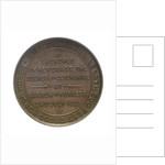 Medal commemorating the launch of HMS 'Powerful'; reverse by W.T. Story