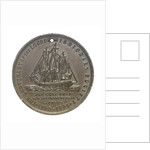 Medal commemorating the centenary of the London Missionary Society; reverse by unknown