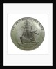 Medal commemorating the Union-Castle Line; reverse by Emil Fuchs